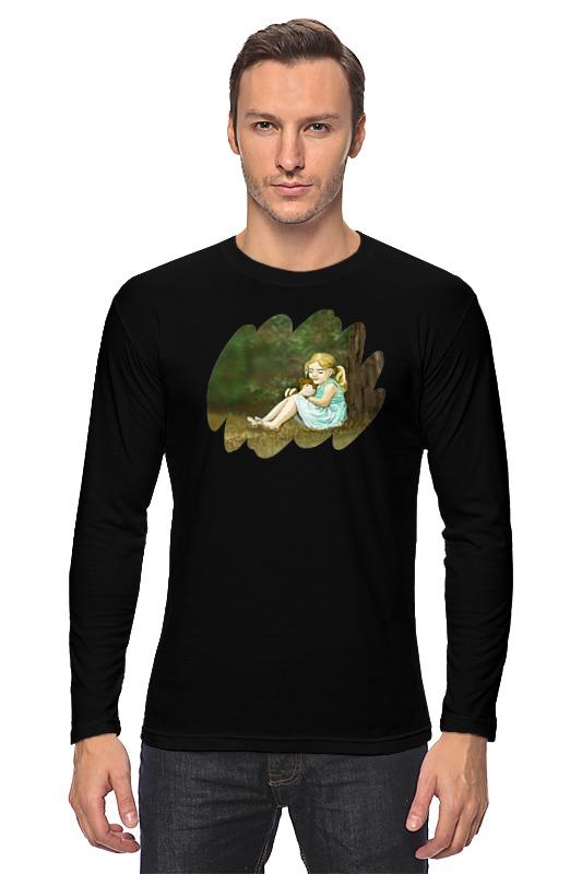 Лонгслив Printio Мишка футболка для беременных printio мишка me to you