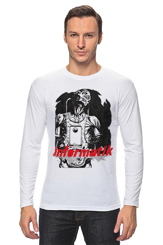 Лонгслив Printio Informatik футболка классическая printio informatik