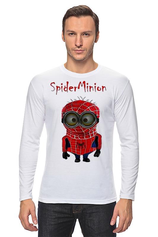 Лонгслив Printio Spider minion лонгслив printio iron minion