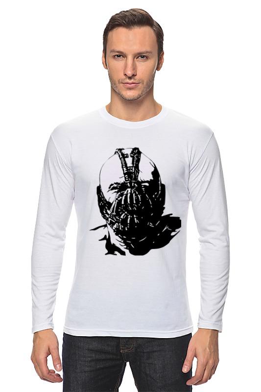 Лонгслив Printio Суперзлодей комиксов - бэйн робин dc comics из серии возращение тёмного рыцаря
