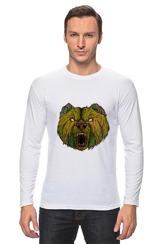 Лонгслив Printio Evil bear лонгслив printio bear beer медведь и мед