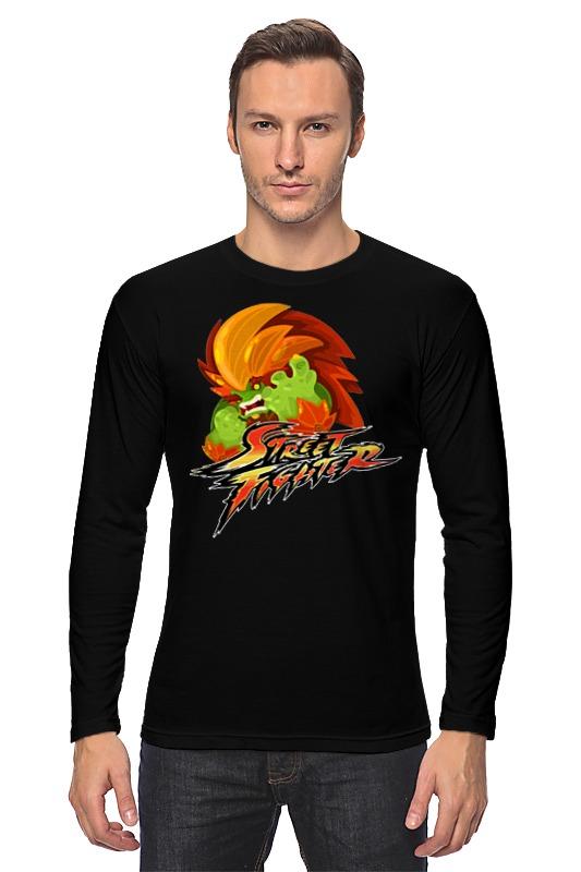 Лонгслив Printio Бланка (уличный боец) лонгслив printio ken street fighter