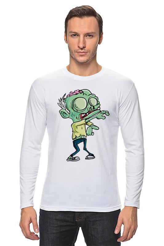 Лонгслив Printio Зомби (zombie) лонгслив printio рука зомби zombie hand