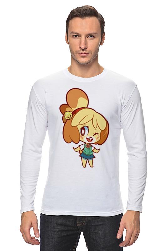 Лонгслив Printio Изабель (приходи в лес животных) футболка wearcraft premium printio изабель приходи в лес животных