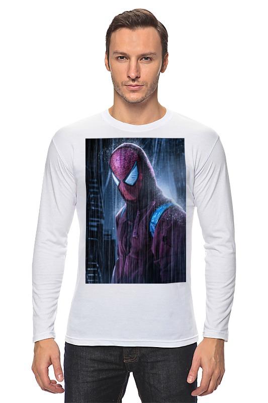Лонгслив Printio Человек-паук (spider-man) набор канцелярский spider man 2 пр