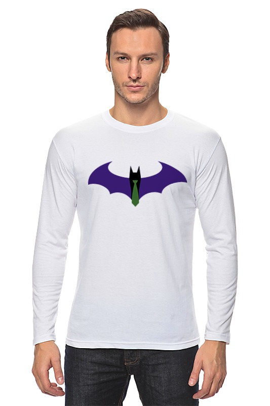 Лонгслив Printio Batman x joker лонгслив printio ice king x batman