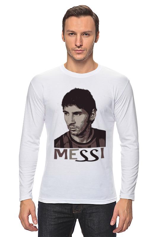 Лонгслив Printio Messi футболка классическая printio messi