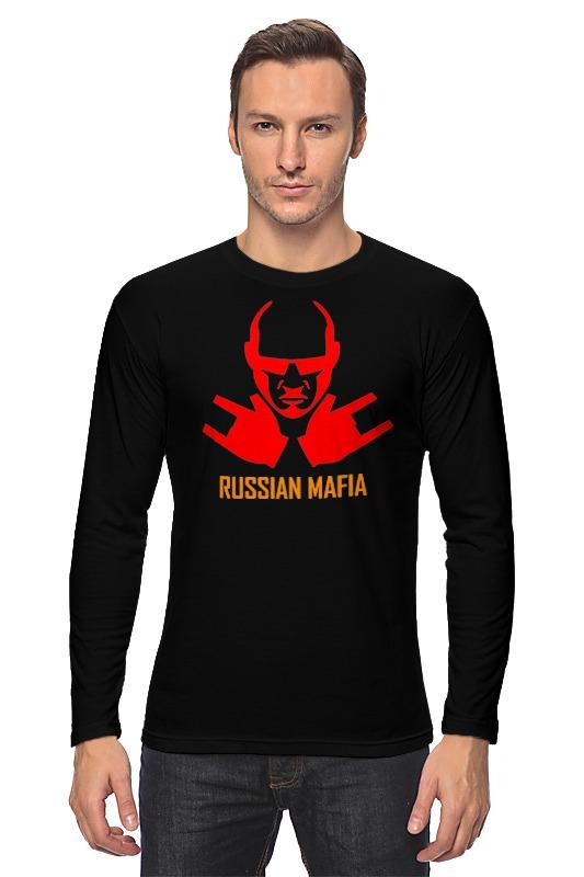 Лонгслив Printio Russian mafia russian phrase book