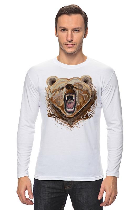 Лонгслив Printio Медведь лонгслив printio bear beer медведь и мед