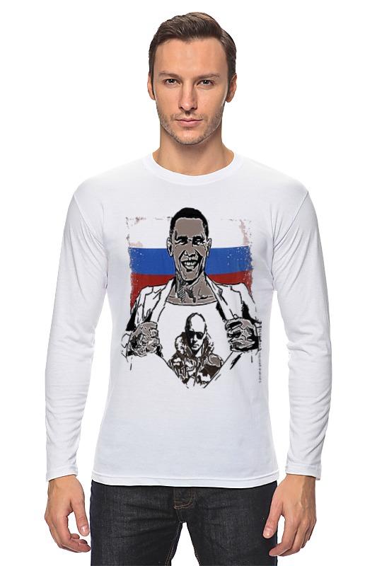 Лонгслив Printio Russia лонгслив printio россия russia