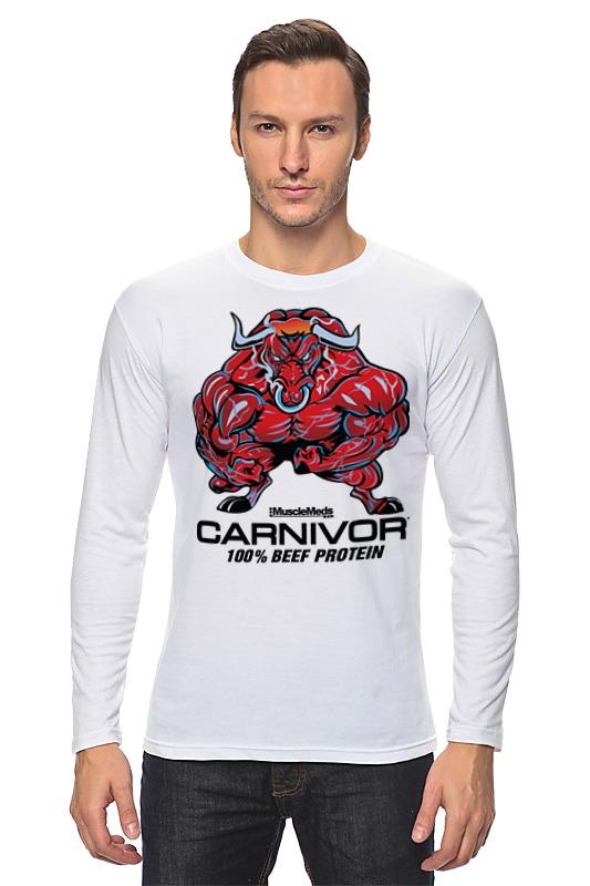 Лонгслив Printio Bull bodybuilder цена