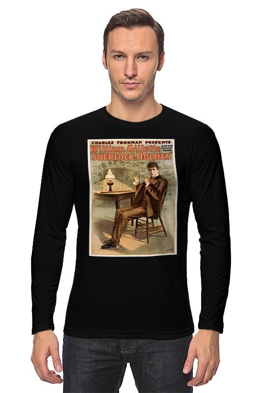 Лонгслив Printio Афиша спектакля шерлок холмс, 1900 г. ник картер американский шерлок холмс