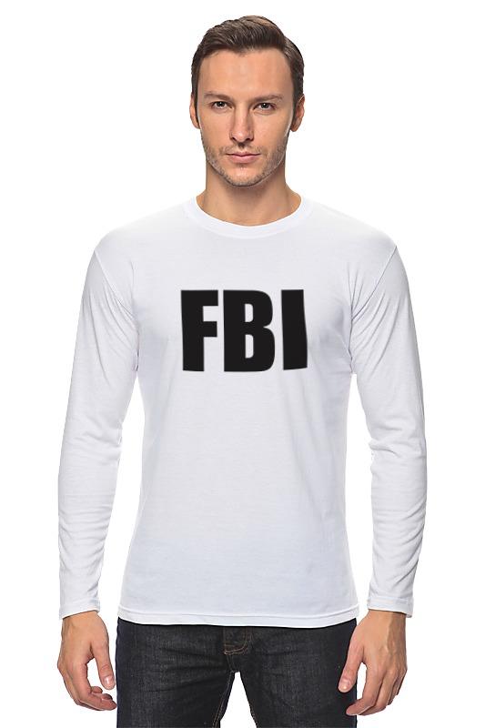Лонгслив Printio Fbi agent franke fbi 722 xs