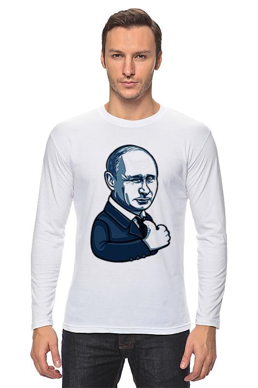 Лонгслив Printio Путин - like сумка printio путин like