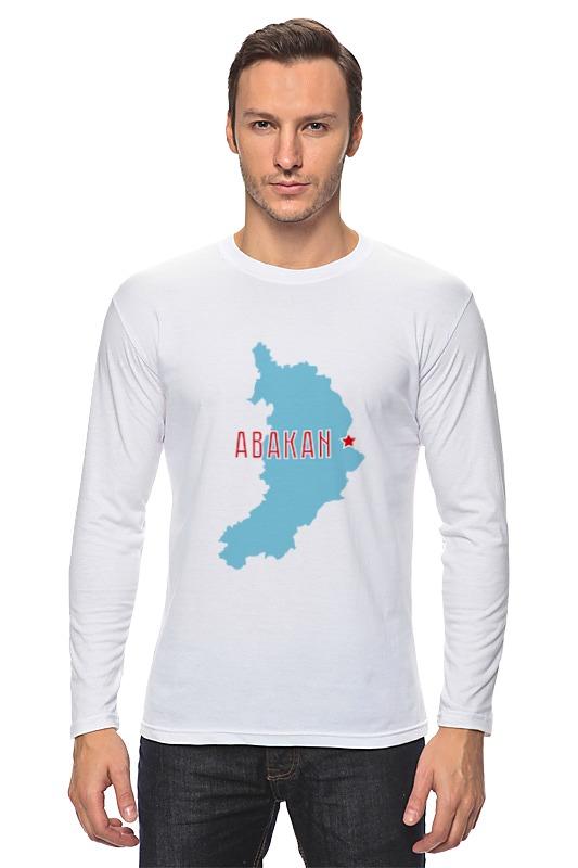 Лонгслив Printio Республика хакасия. абакан карты для навител навигатор республика казахстан