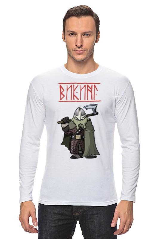 Лонгслив Printio Веселый викинг футболка классическая printio веселый викинг