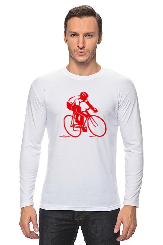 Лонгслив Printio Велосипедист лонгслив printio kraftwerk