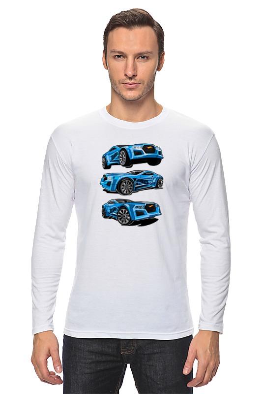 Лонгслив Printio Гоночные машины toytoys конструктор гоночные машины toto 074