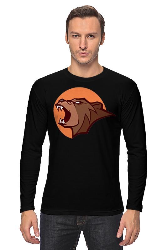 Лонгслив Printio Bear / медведь лонгслив printio bear beer медведь и мед