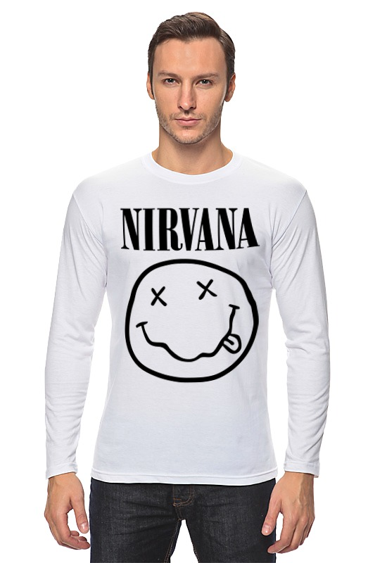 Лонгслив Printio Nirvana (нирвана)