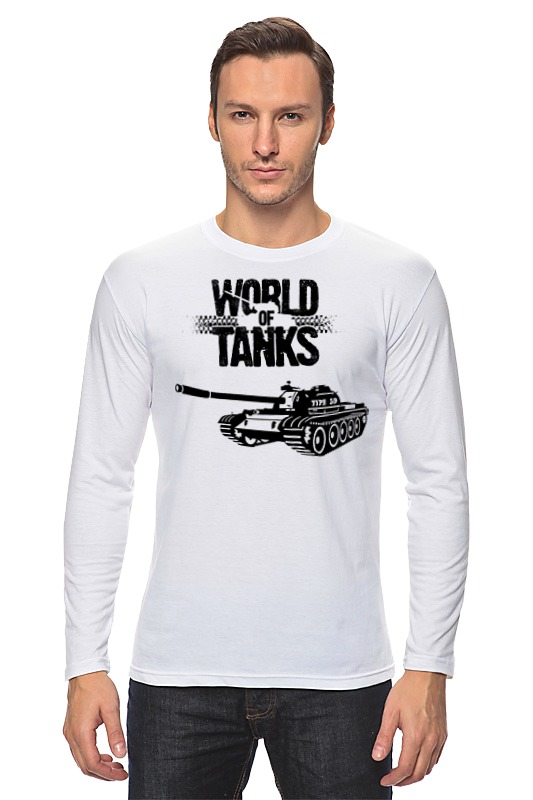 Лонгслив Printio World of tanks - type 59