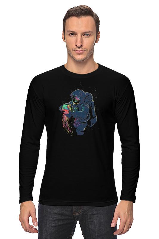 Лонгслив Printio Космическая медуза свитшот print bar космонавт и медуза