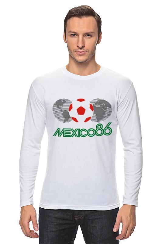 Лонгслив Printio Чемпионат мира по футболу в мексике 1986 год чемпионат мира по регби 2019 франция сша
