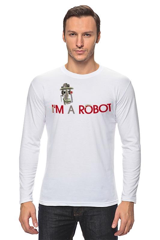 Лонгслив Printio Robot2 лонгслив printio 62 2% в саратове