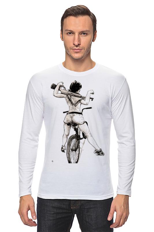 Printio Девушка, карабин, велосипед лонгслив printio велосипед