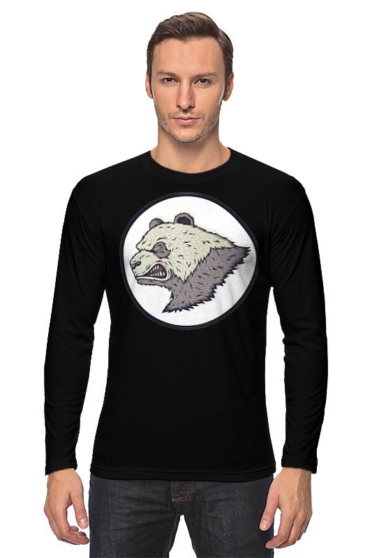 купить Лонгслив Printio Angry panda / злая панда по цене 1370 рублей
