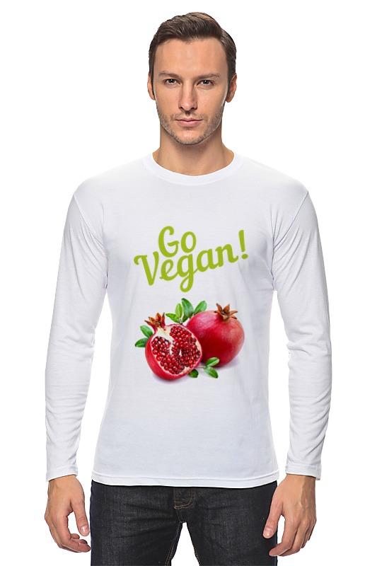 Лонгслив Printio Go vegan! лонгслив printio go vegan