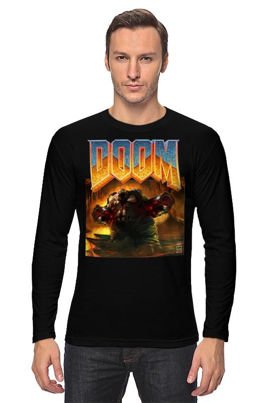 Лонгслив Printio Doom game чехол для iphone 6 глянцевый printio doom game