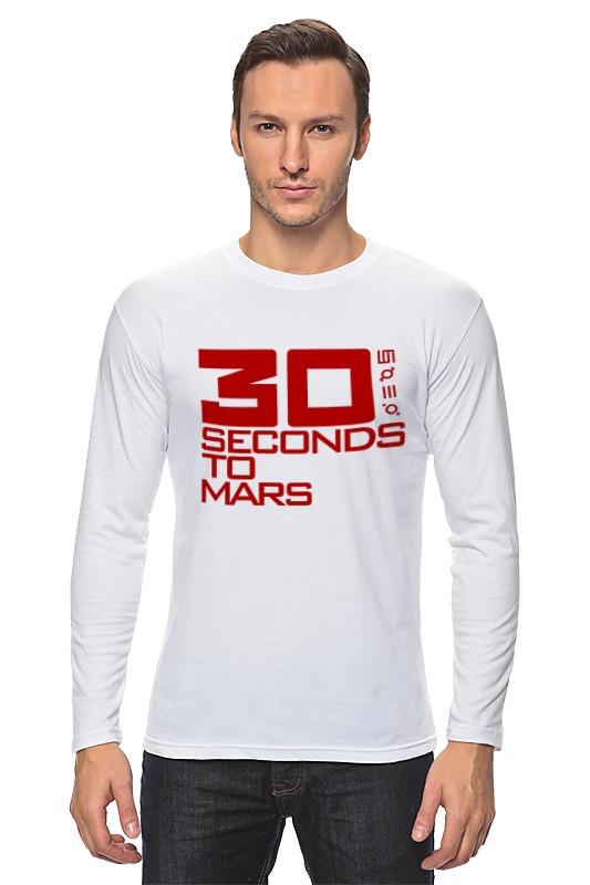Лонгслив Printio 30 seconds to mars майка борцовка print bar 30 seconds to mars