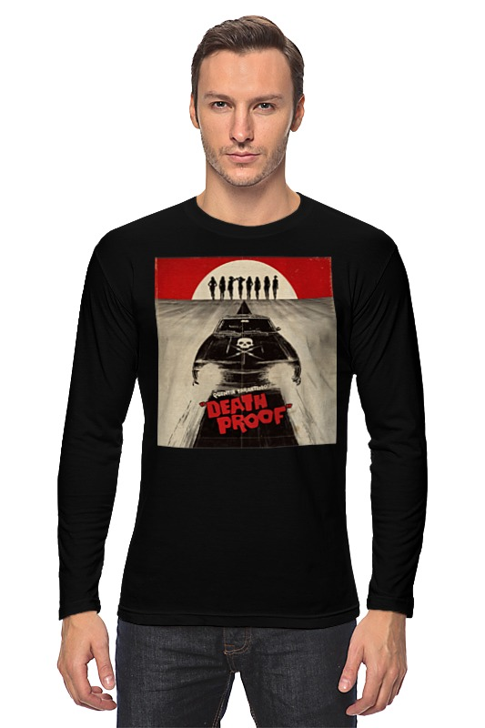Лонгслив Printio Death proof death