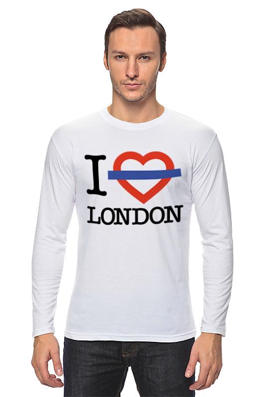 Лонгслив Printio Люблю лондон анна нетребко лондон