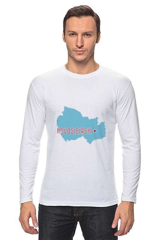 Лонгслив Printio Новосибирская область. новосибирск