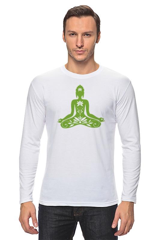 Printio Поза лотоса (йога) лонгслив printio йога поза лотоса