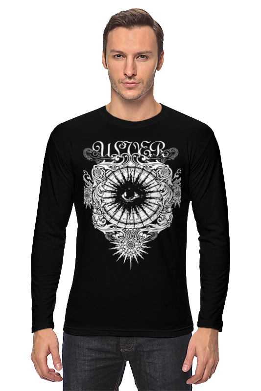 Лонгслив Printio Ulver ulver ulver kveldssanger re issue 2016