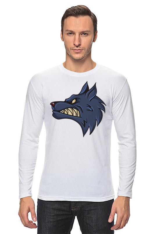 Лонгслив Printio Angry wolf цена 2017