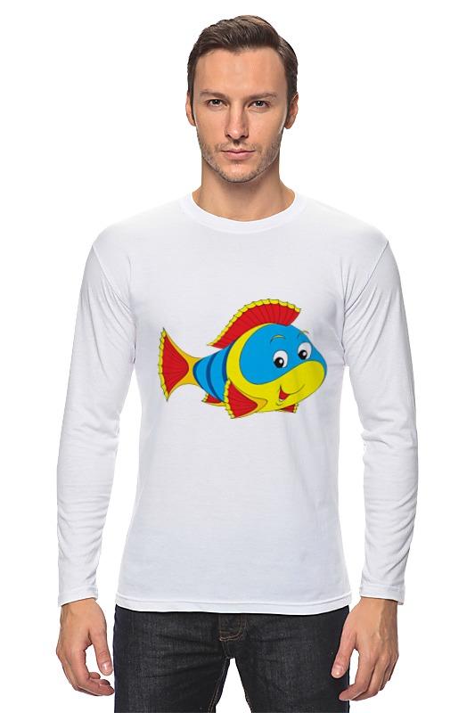 Лонгслив Printio Рыбка 3 лонгслив printio рыбка 2