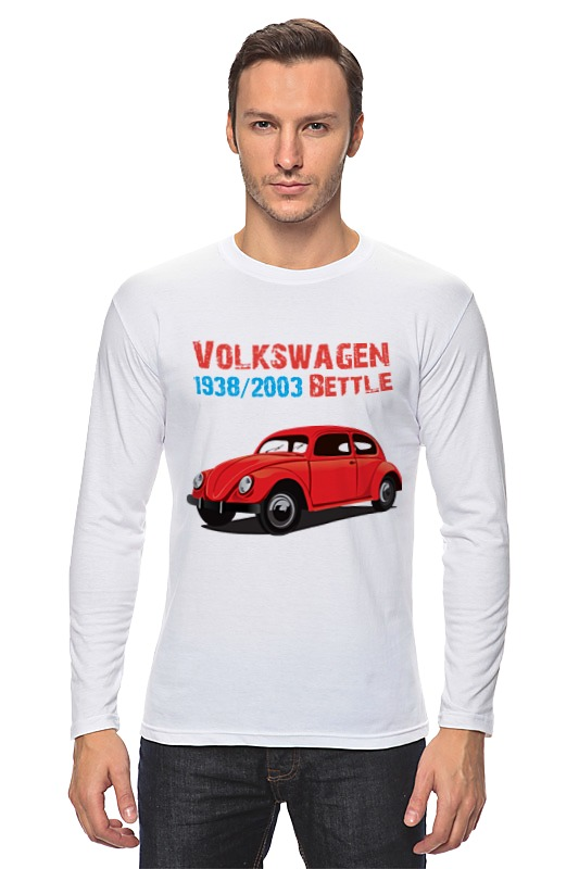 Лонгслив Printio Вольскваген жук футболка классическая printio вольскваген жук