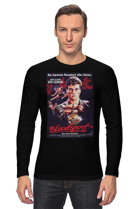 Лонгслив Printio Bloodsport / кровавый спорт