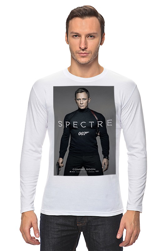 Лонгслив Printio Bond 007 / spectre лонгслив printio spectre