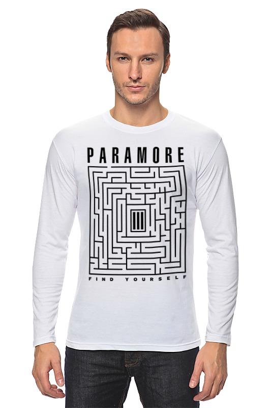 Лонгслив Printio Paramore