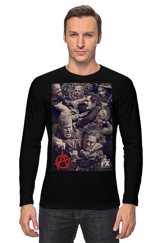 Лонгслив Printio Мама анархия папа стакан бурбона случайные мальчика девочка любовь папа мама футболка шорты 2pcs наряды одежду комплекс