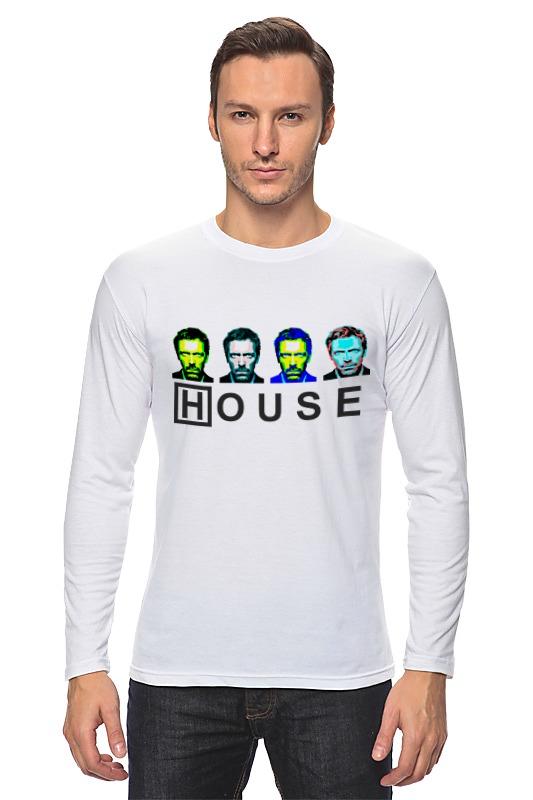 Лонгслив Printio Dr. house_3 лонгслив printio dr house 1