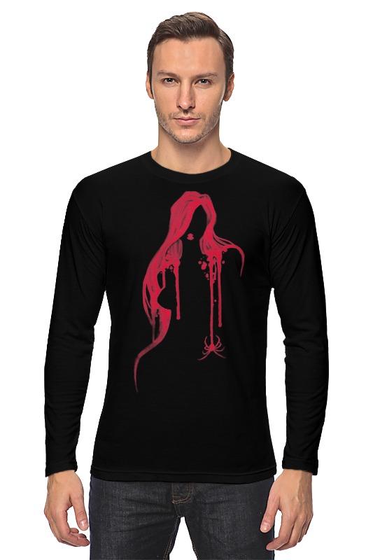 Лонгслив Printio Чёрная вдова футболка с полной запечаткой женская printio чёрная вдова black widow