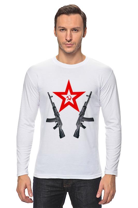 Лонгслив Printio Redstar ak автомат калашникова пневматический в москве