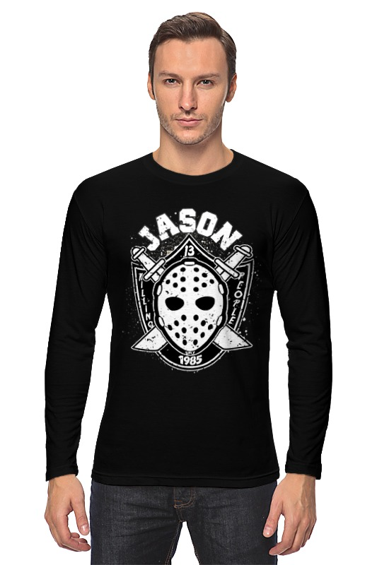 Лонгслив Printio Jason (friday 13) friday nights