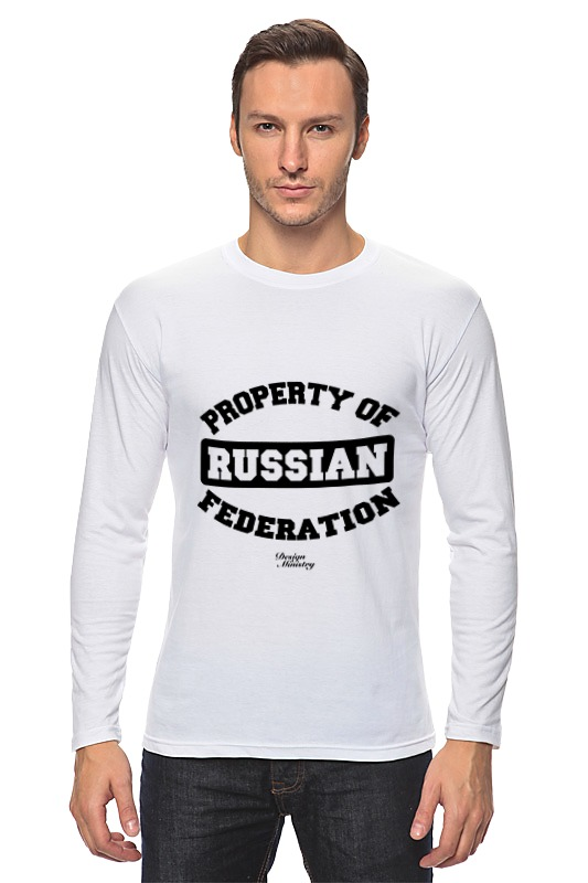 Лонгслив Printio Property of russian federation